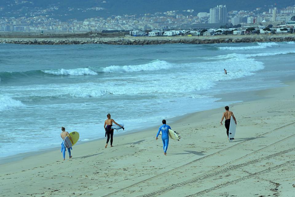 surf e caminhada